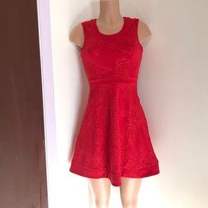 Nanette Lepore L'AMOUR Red 🌹 Dress